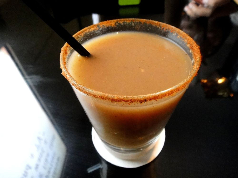 Spicy Guava Mocktail @TheCaliforniaBoulevard. Rating- 4.5/5