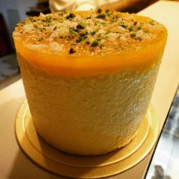 Mango Peanut Cheesecake