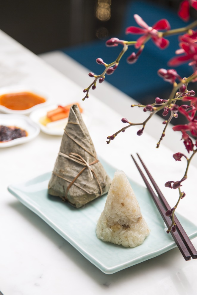 Lamb and pinenuts Zongzi/Rice dumpling