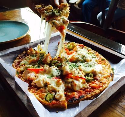 chur chur pizza