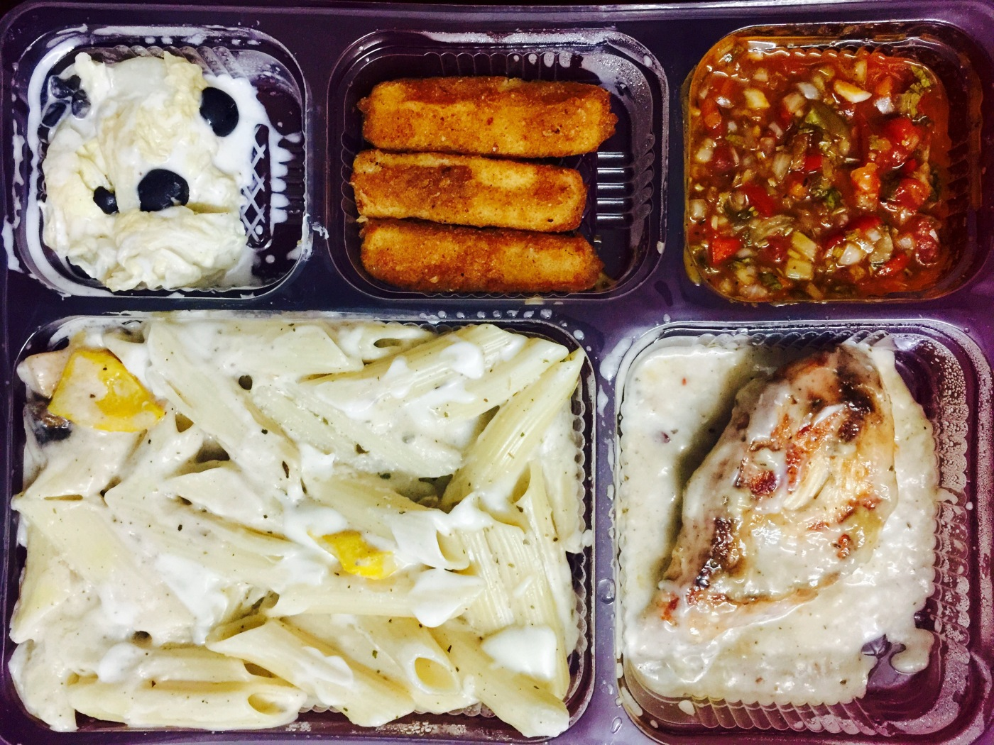 E YUM food delivery: Italian Meal Box