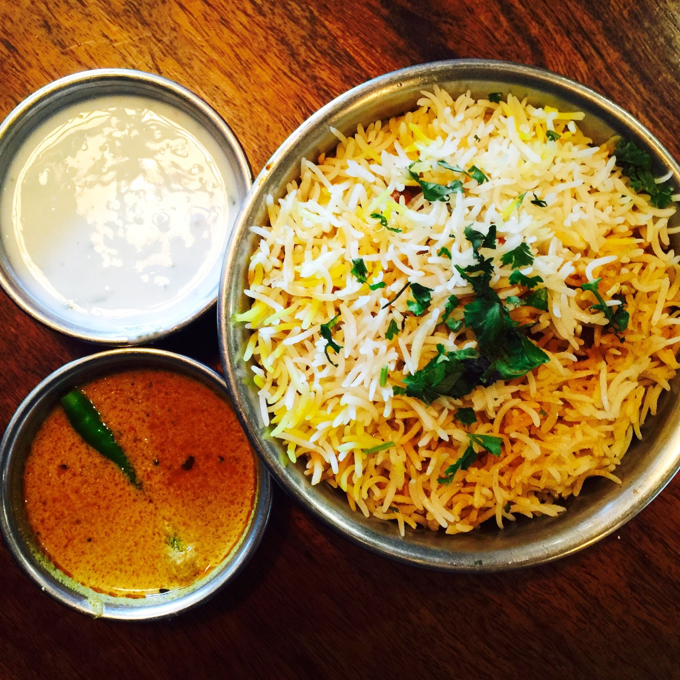 Chicken Biryani at Biryani Blues