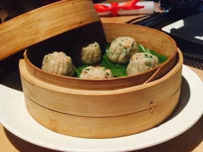 Chicken Sui Mai at Chao Bella