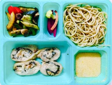 Chicken Roulade with Spaghetti from Foozy