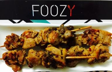 Turkish Chicken Skewers from Foozy