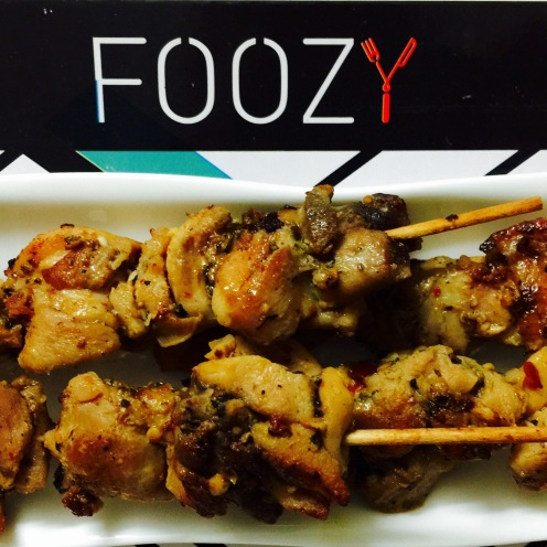 Turkish Chicken Skewers from Foozy