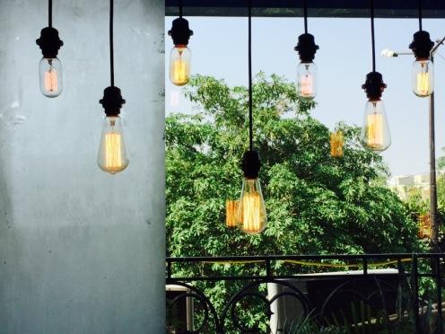 Interiors at The Joint cafe, Gurgaon