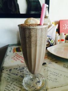 Tiramiasu Cheesecake shake at The Joint Cafe