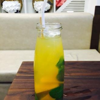 Kafir lime and Orange