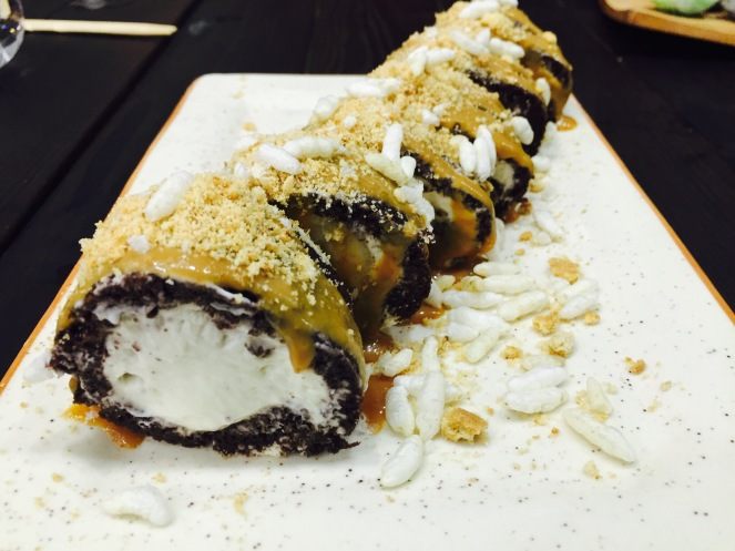 Banoffee Sushi