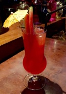 Watermelon cooler at Wok in the Clouds