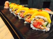 Mango and Tuna Sushi