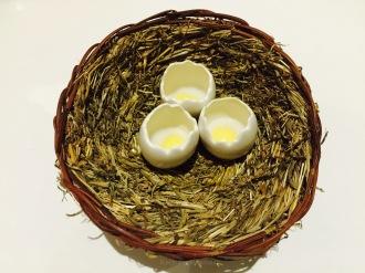 Fake Eggs Amuse Bouche