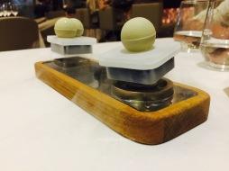 Levitating chocolate Balls