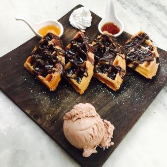 Chocolate Fantasy Waffles