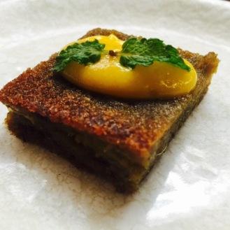 Mango and Mint Cake