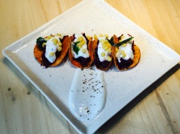 Beetroot Bhaaji Tacos