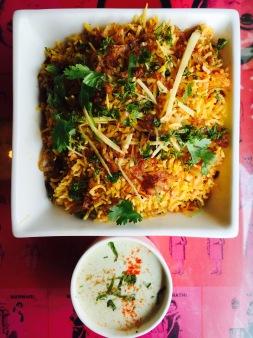 Chicken Biryani Platter