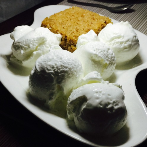Choori with Ice cream