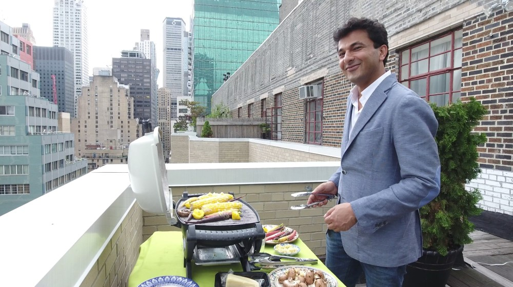 Vikas Khanna in New York