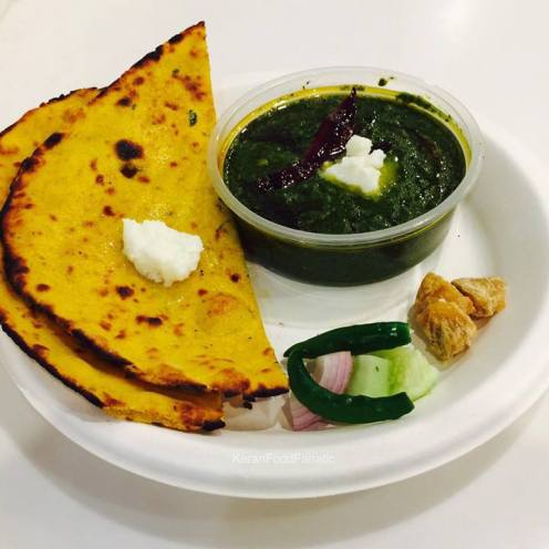 saag-and-makki-ki-roti
