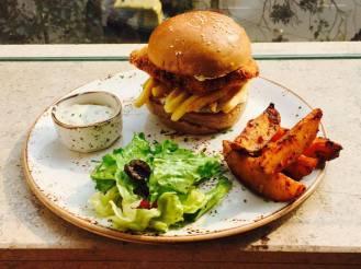 Fish and Chips Burger