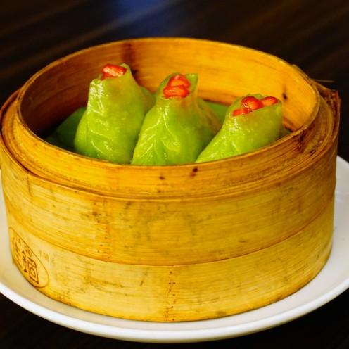 vegetable chive dumpling