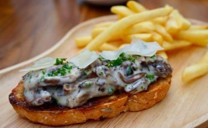 mushroom-on-toast