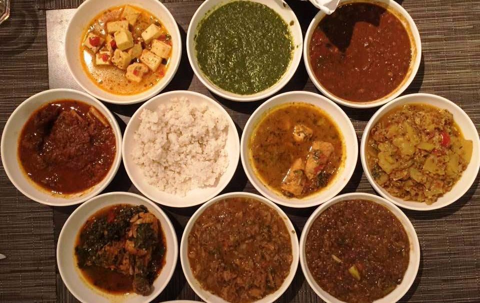 Main Course at Uttarakhand Food Festival