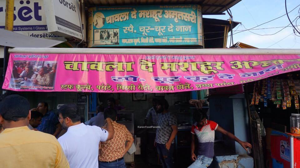 Chawla de Mashoor Chur Chur Naan in Paharganj