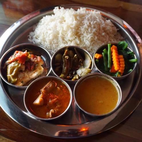 Chicken Thali
