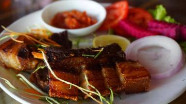 Pork Ribs with Raja Mircha
