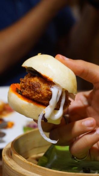 Crispy Tofu Bun