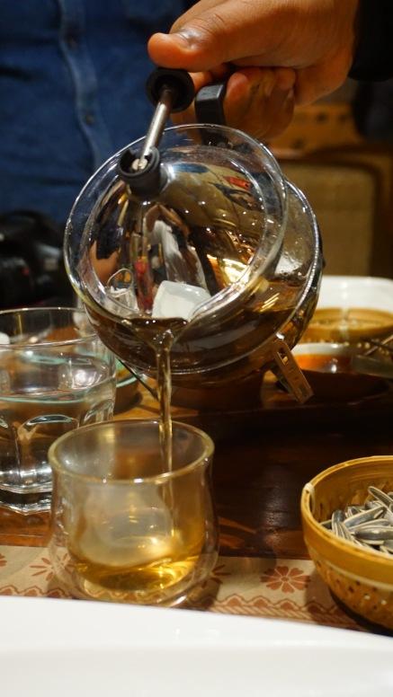 Tea at Burma Burma
