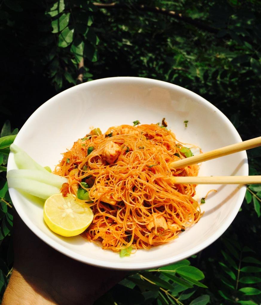 schezwan rice noodles