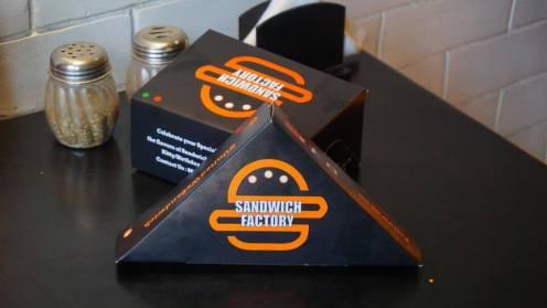 Sandwich Factory Boxes