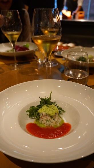 Atlantic crab salad