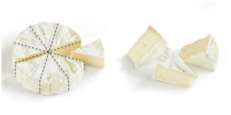 How to cut Brie Cheese