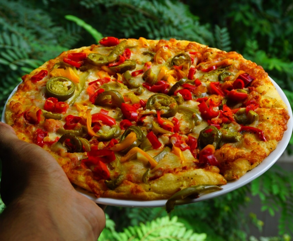 Dominos 5 Pepper Pizza
