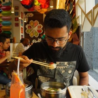 Eating Dim Sums