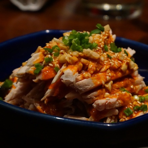 Chicken Sichuan Salad