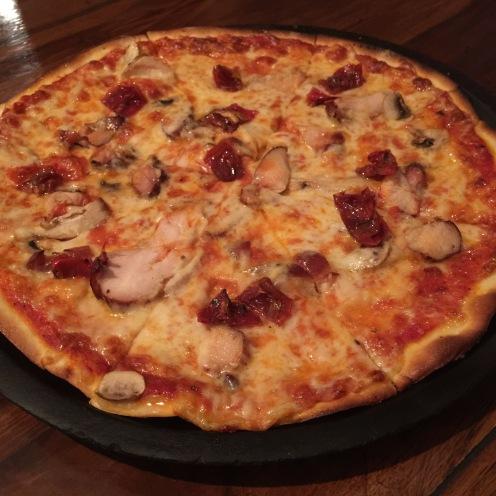 Pizza alla chicken