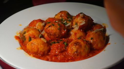 polpette di pollo della nonna or chicken meatballs Grandma's style