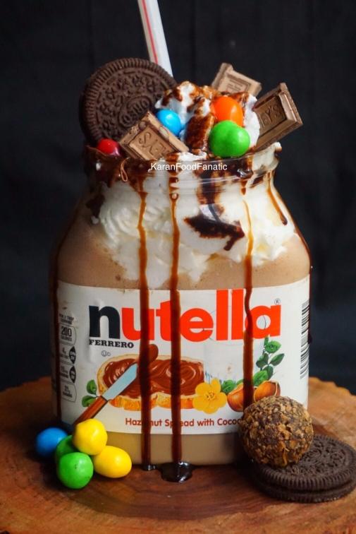 Nutella Freakshake
