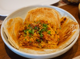 Tohu Mash with Paratha
