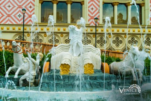 Wish-granting Fountain at The Grand Venice