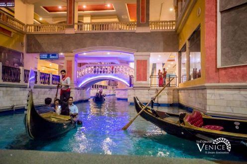 Gondola Ride at The Grand Venice Mall