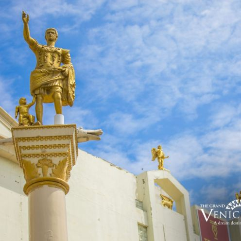 Roman Statues at The Grand Venice Mall