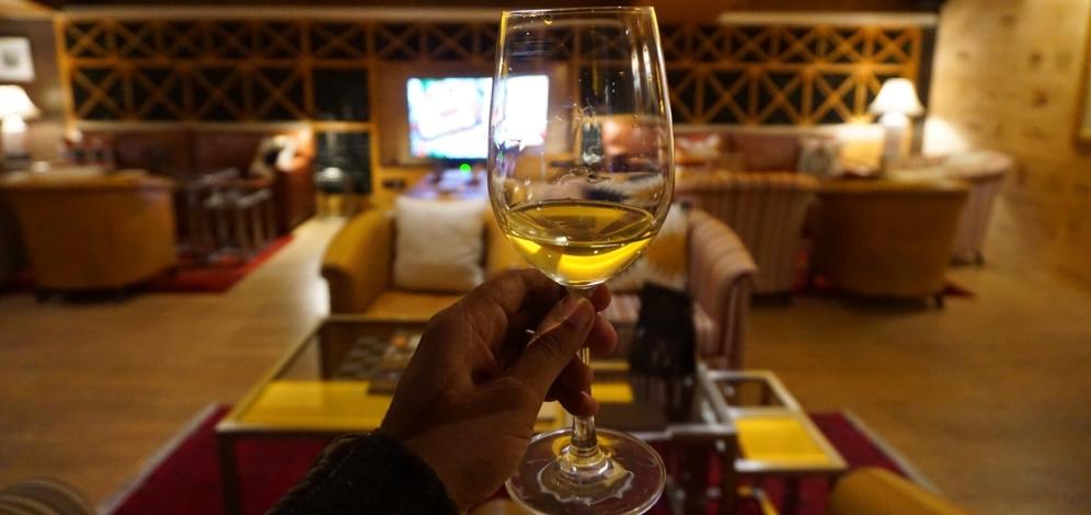 It's a fine wine affair