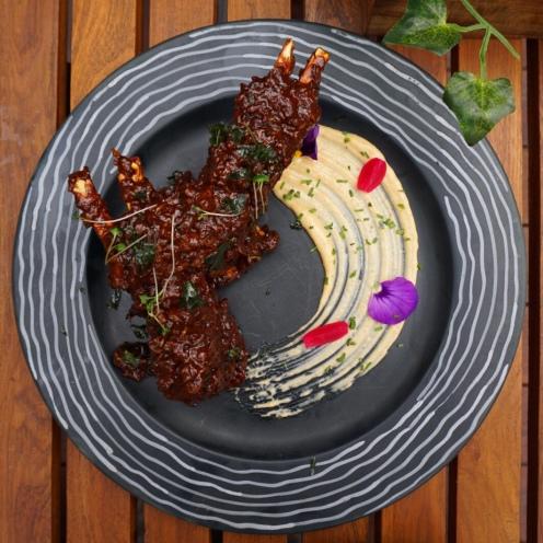 Ghee roast lamb chops